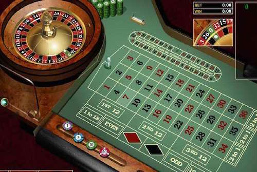 Roulette europea european roulette - Il tavolo della roulette ...