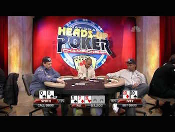 National heads up poker championship