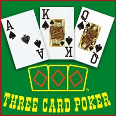 Il gioco del three card poker