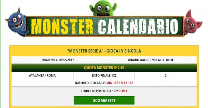 monster bet