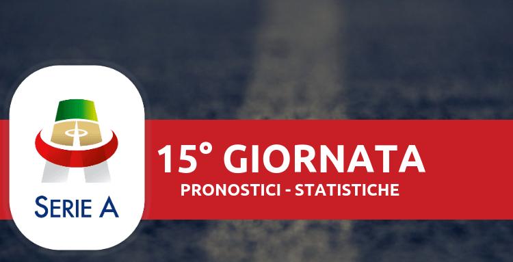 Pronostici Serie A 15° Giornata