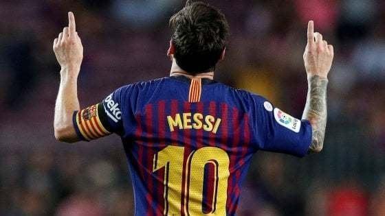 Messi addio al Barcellona