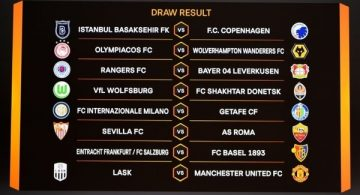 ottavi europa league