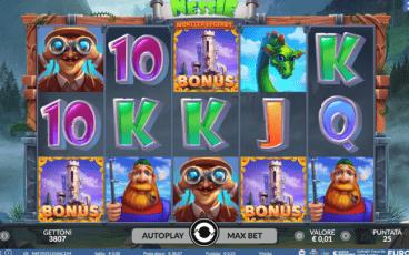 Slot Monster Legends: Nessie