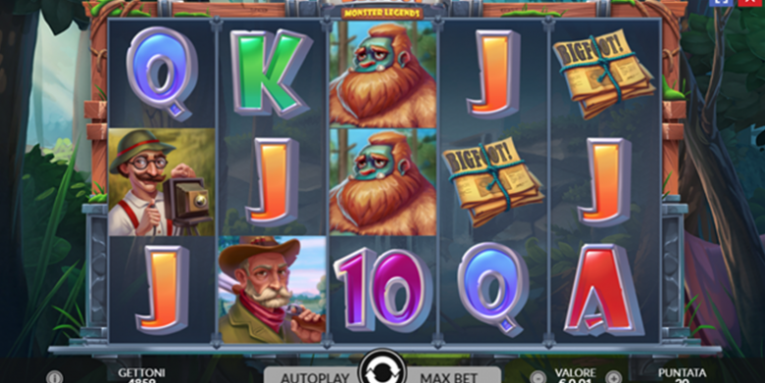 Slot Monster Legends: Bigfoot